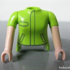Playmobil: PLAYMOBIL RECAMBIO CUERPO Y DOS BRAZOS -PINZA NO INCLUIDA-. Lote 176604304