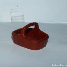 Playmobil: PLAYMOBIL MEDIEVAL CESTO MERCADO MIMBRE. Lote 176785448