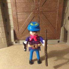 Playmobil: PLAYMOBIL SOLDADO NORDISTA, FUERTE, OESTE, WESTERN. Lote 176794082