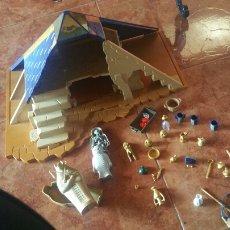 Playmobil: PIRAMIDE EGIPTO CON COMPLEMENTOS. TAL COMO SE VE. Lote 176898232