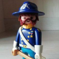 Playmobil: PLAYMOBIL, LOTE, CUSTOM, OESTE, WESTERN, NORDISTAS, SUDISTAS, SOLDADOS, INFANTERIA, GENERAL, OFICIAL. Lote 176979847