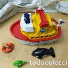 Playmobil: PLAYMOBIL 1 2 3 BARCO MALETÍN CON ANIMALES 123 REF. 6957. Lote 177080560