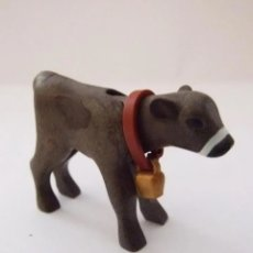 Playmobil: PLAYMOBIL MEDIEVAL ANIMAL TERNERO CON CENCERRO GRANJA. Lote 182812586
