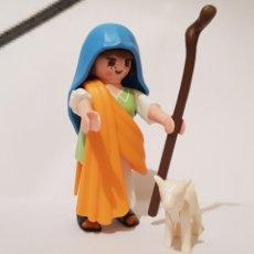 Playmobil: PLAYMOBIL PASTORA PASTORCILLA PARA EL BELEN CON BORREGO. Lote 186415121