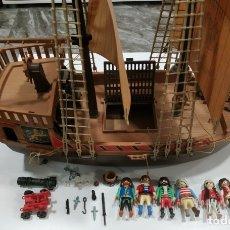 Playmobil: PLAYMOBIL , BARCO PLAYMOBIL MUY COMPLETO , CON VARIAS FIGURAS Y ACCESORIOS AÑOS 80. Lote 177431544