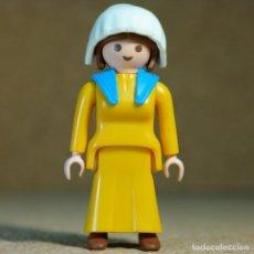 Playmobil: PLAYMOBIL MUJER VIAJANTE, PASAJERO TREN DEL OESTE WESTERN 4034. Lote 177530633