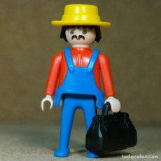 Playmobil: PLAYMOBIL COCHERO, OESTE WESTERN TREN CALESA 4034 4033 4032. Lote 177530853