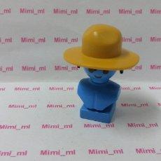 Playmobil: PLAYMOBIL SOMBRERO WESTERN OESTE VAQUERO GORRO GRANJA MEDIEVAL. Lote 177610440