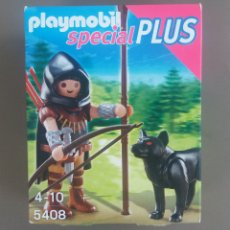 Playmobil: PLAYMOBIL ESPECIAL PLUS 5408 ARQUERO MEDIEVAL. Lote 177657318
