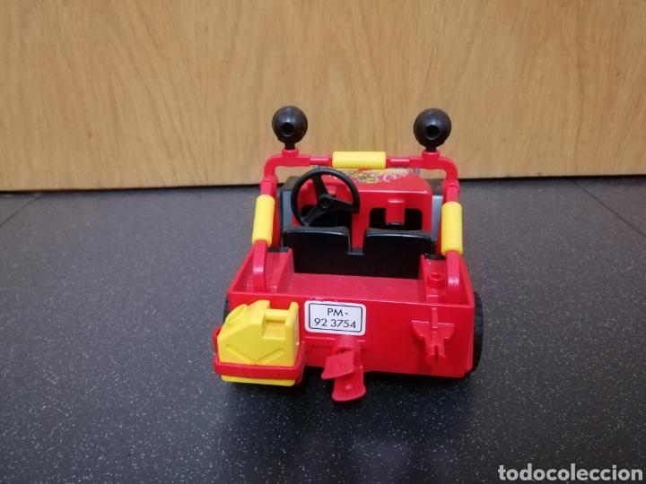 Playmobil: Playmobil 7962 3754 jeep rojo todoterreno moto motocicleta enduro motocross figura piloto coche - Foto 3 - 177934892