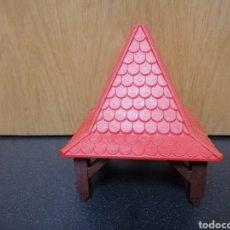 Playmobil: PLAYMOBIL BASE Y TEJADO CASTILLO MEDIEVAL 3667 TORRE SOPORTE TECHO TEJAS. Lote 178148212