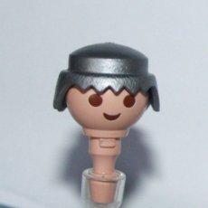 Playmobil: PLAYMOBIL PELO PELUCA PLATA VIKINGO PIRATA CLASICO (CABEZA NO INCLUÍDA). Lote 178239393