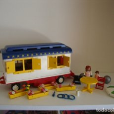 Playmobil: LOTE PLAYMOBIL REF 3728 CARAVANA CIRCO ROMANI. Lote 178244808