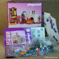 Playmobil: PLAYMOBIL REF. 5310 COMPLETO Y CON CAJA, SALON BIBLIOTECA VICTORIANA MANSION SERIE ROSA 5300. Lote 178321412