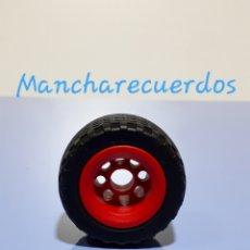 Playmobil: PLAYMOBIL 3041 LLANTA ROJA NEUMATICO GOMA RUEDA JEEP REPUESTO 3371 3851 4832 PLAYMOVIL 30823290. Lote 178380192