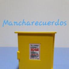 Playmobil: PLAYMOBIL 3777 ARMARIO EXTERIOR GAS REMOLQUE CONSTRUCCION TOPOGRAFO OBRA PLAYMOVIL 3007562 3007563. Lote 178384113