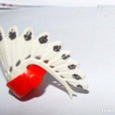 Playmobil: PLAYMOBIL PENACHO JEFE INDIO PLUMAS GOMA CINTA PELO DIADEMA CABEZA WESTERN OESTE GUERRERO TRIBU. Lote 178594152