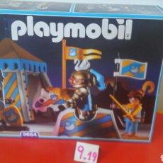 Playmobil: CAMPAMENTO TORNEO REF.3654.PLAYMOBIL MEDIEVAL 1993.NUEVO EN CAJA SIN ABRIR.. Lote 191097318