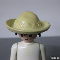 Playmobil: PLAYMOBIL SOMBRERO GORRO MEXICANO -ATENCION COLOR. Lote 195168363