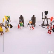 Playmobil: CONJUNTO DE PLAYMOBIL - DUELO MEDIEVAL - TORNEO / JUSTA - REF. 3913 - AÑOS 80 - ELEMENTOS CROMADOS. Lote 178851837