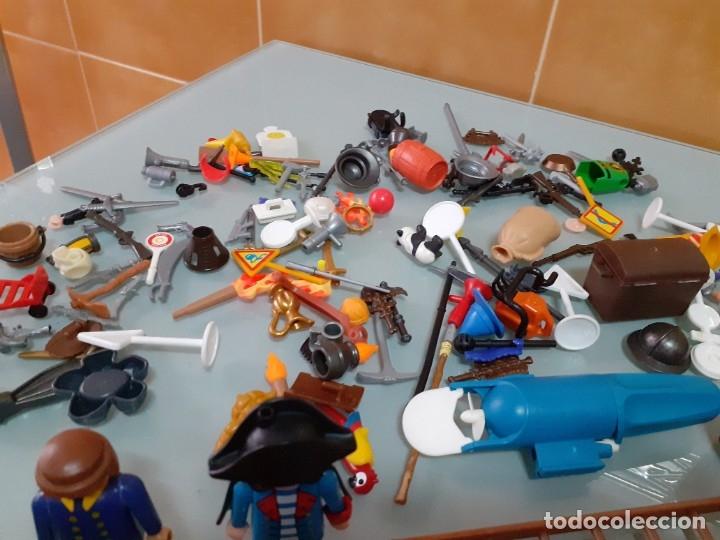 Playmobil: Lote de 105 cliks de Playmobil + complementos + animales.Distintas épocas. - Foto 27 - 178859435