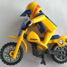 Playmobil: FAMOBIL PLAYMOBIL MOTO CON PILOTO MOTORISTA. Lote 179033158