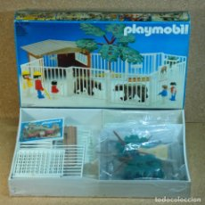 Playmobil: PLAYMOBIL REF. 3435, CON CAJA SELLADA, ZOO CON OSOS ANIMALES NIÑOS VALLADO. Lote 179043656