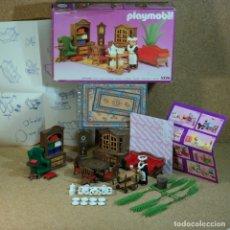 Playmobil: PLAYMOBIL REF. 5320 COMPLETO CON CAJA, SALÓN COMEDOR HABITACIÓN VICTORIANA SERIE ROSA 5300. Lote 217658715