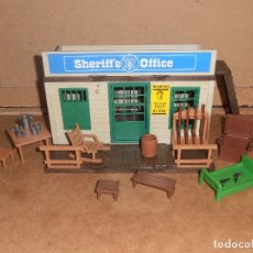 Playmobil: OFICINA SHERIFF PLAYMOBIL 3423 ANTIGUO OESTE WESTERN CARCEL . Lote 179087841