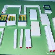 Playmobil: LOTE PIEZA PILAR PUERTA GRANJA CASA UNIÓN MARCO SYSTEM X VENTANA . Lote 179193895
