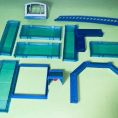 Playmobil: LOTE PIEZA PARED CRISTAL POLICÍA CASA UNIÓN MARCO SYSTEM X VENTANA . Lote 179193982