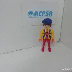 Playmobil: PLAYMOBIL CICLISTA CON MALLOT EQUIPO SPRINT. Lote 179198686