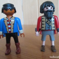 Playmobil: PLAYMOBIL: LOTE DE 2 FIGURAS PIRATAS. Lote 179202181
