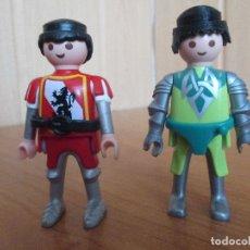 Playmobil: PLAYMOBIL: LOTE DE 2 FIGURAS MEDIEVALES. Lote 179202212