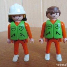 Playmobil: PLAYMOBIL: LOTE DE 2 FIGURAS DEL SERVICIO DE RESCATE. Lote 179202577