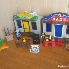 Playmobil: PLAYMOBIL: MALETIN OESTE BANK Y OFICINA DEL SHERIFF. Lote 179202746