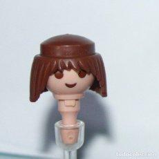 Playmobil: PLAYMOBIL PELO PELUCA MORENO VIKINGO PIRATA CLASICO (CABEZA NO INCLUÍDA). Lote 179214530