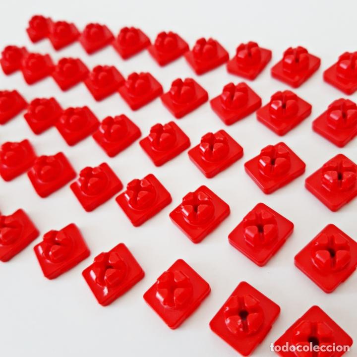 Playmobil: PLAYMOBIL LOTE 50 ENGANCHES ROJOS MONTAJE SYSTEM X + LLAVE CASTILLO MEDIEVAL CASA GRANJA CIUDAD - Foto 2 - 179314462