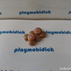 Playmobil: PLAYMOBIL BOLLO CANELA ENSAIMADA CON ADORNO PASTELERIA PANADERIA COMIDA MERCADO. Lote 179317760