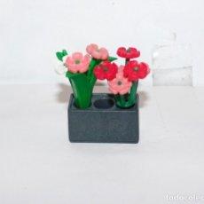 Playmobil: PLAYMOBIL MEDIEVAL MACETA PLANTA FLORES. Lote 180036251