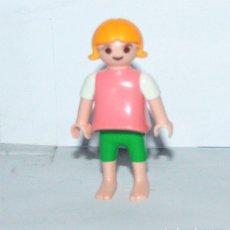 Playmobil: PLAYMOBIL MEDIEVAL FIGURA NIÑA PLAYA. Lote 180051758