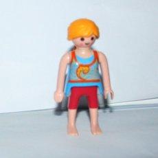 Playmobil: PLAYMOBIL MEDIEVAL FIGURA MUJER PLAYA. Lote 180051806