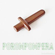 Playmobil: PLAYMOBIL ESPADA MARRÓN TIPO MADERA NIÑO 3151 3154 3666 5581 6493 ROMANO MEDIEVAL VIKINGO. Lote 180071263
