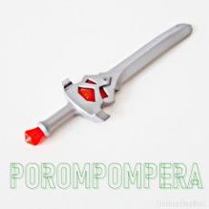 Playmobil: PLAYMOBIL ESPADA GRIS CON JOYAS ROJAS CABALLERO MEDIEVAL - SETS POR DETERMINAR. Lote 180071658