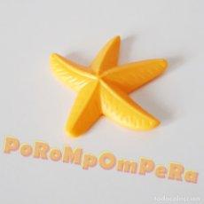 Playmobil: PLAYMOBIL ESTRELLA DE MAR AMARILLA ACUARIO SUBMARINISMO PECERA PEZ ANIMAL MAR CLR. Lote 180132493