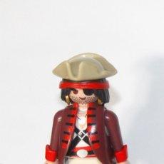 Playmobil: PLAYMOBIL MEDIEVAL FIGURA ODIFICIL PIRATA BARCO. Lote 180207392