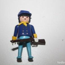 Playmobil: PLAYMOBIL FIGURA OESTE SOLDADO UNION YANKEE. Lote 180239553