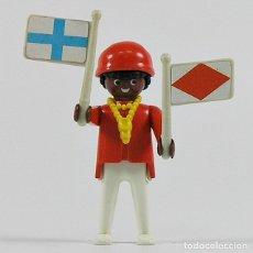 Playmobil: PLAYMOBIL PIRATA NEGRO (3480). Lote 180239950