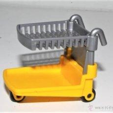 Playmobil: PLAYMOBIL MEDIEVAL PORTAMALETAS CARRO MERCADO. Lote 180347196