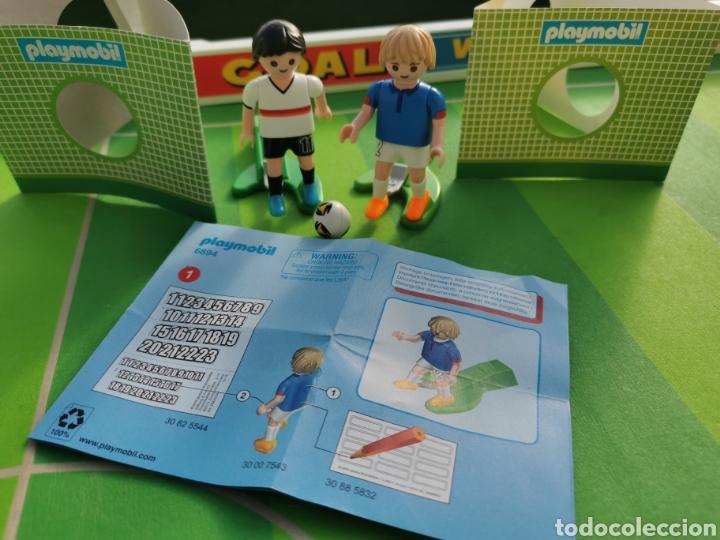 Playmobil: PLAYMOBIL JUGADOR FÚTBOL FRANCIA Y ALEMANIA 6894 6893 - Foto 2 - 180348966